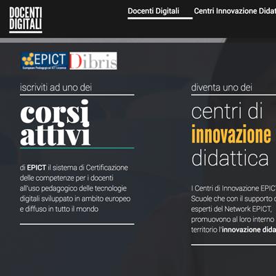 Docenti Digitali website