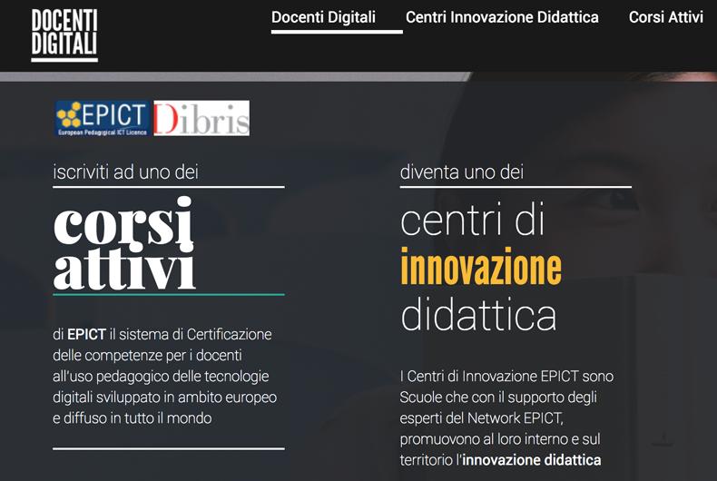 Docenti Digitali, website