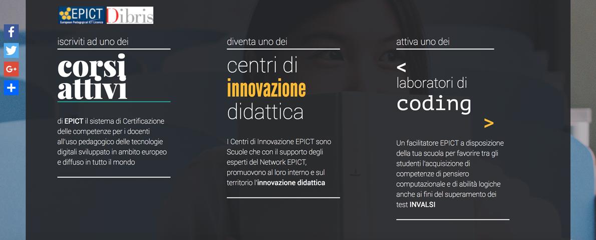 Docenti Digitali, Branding, horizontal lines