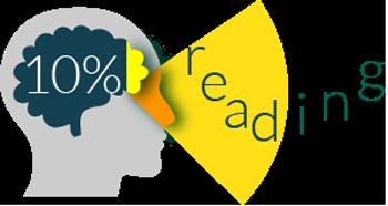 10% reading
