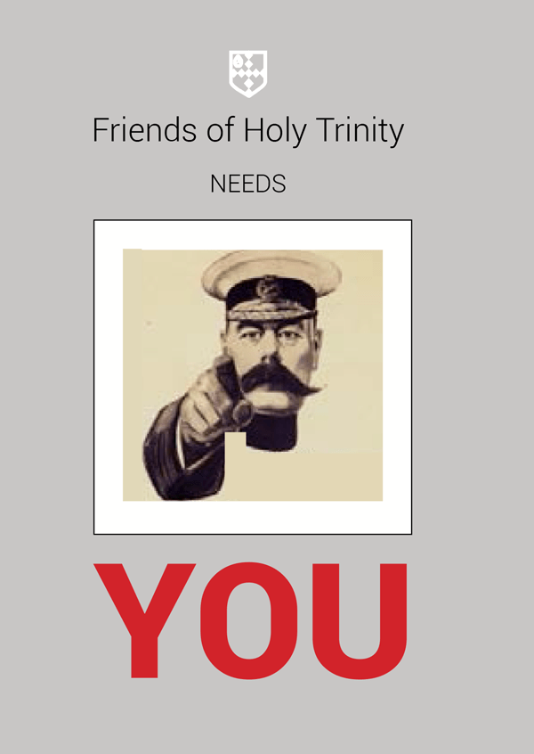 Friends of Holy Trinity Need you